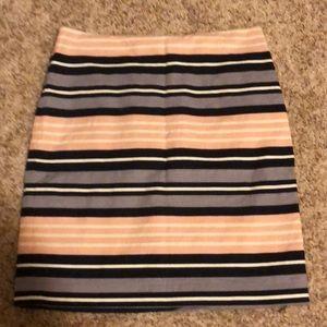 Women's striped skirt by Ann Taylor.  Size 12